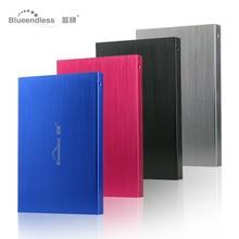 Free shipping On Sale 2 5 Blueendless USB2 0 250GB HDD External hard drive Portable Storage
