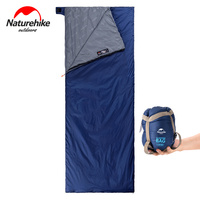 Naturehike Factory Store Outdoor Envelope Sleeping Bag Camping hiking Sleeping bags LW180
