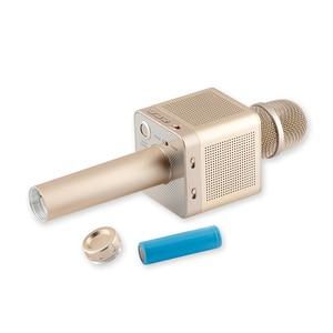 Image 2 - Micro karaoké sans fil MicGeek Q10S de marque originale 2.1 piste sonore dimensionnelle changement de voix 4 haut parleurs Smartphone
