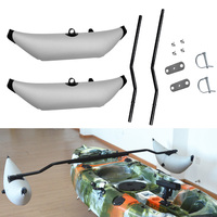 Inflatable Boat Kayak Canoe Outrigger Stabilizer Standing Stabilizer Sidekick Standing Pole Water Float Pole Fishing Accessories