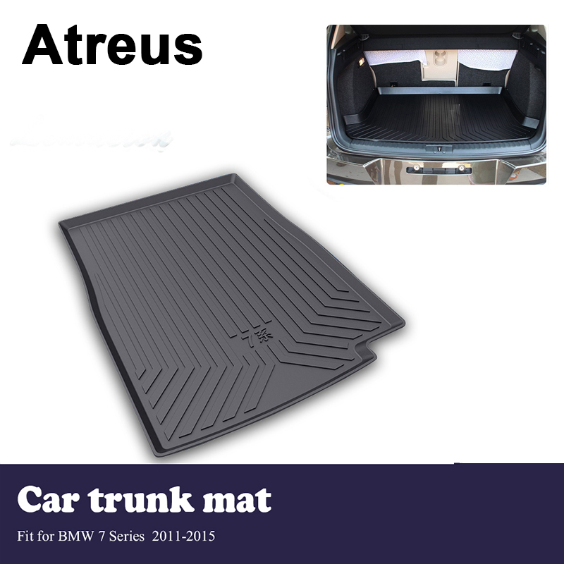 Atreus Car Trunk Cargo Floor Liner Tray Mat Cover Protection Blanket For BMW 7 Series F01 F02 F03 F04 2011-2015 AccessoriesAtreus Car Trunk Cargo Floor Liner Tray Mat Cover Protection Blanket For BMW 7 Series F01 F02 F03 F04 2011-2015 Accessories