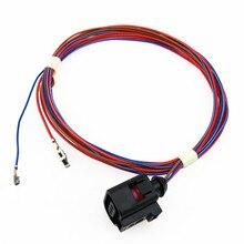 SCJYRXS распределительного Сенсор сирена штекер кабеля для Passat B6 B7 Гольф MK5 MK6 Tiguan A6 A8 Q7 TT Octavia сиденье Леон 1J0973703
