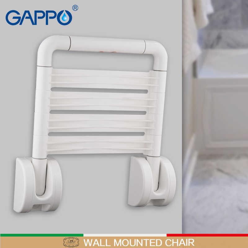 مقاعد دش مثبتة على الحائط من GAPPO كرسي حمام قابل للطي مقعد قابل للطي مقعد حمام قابل للطي مقعد دش للمرحاض