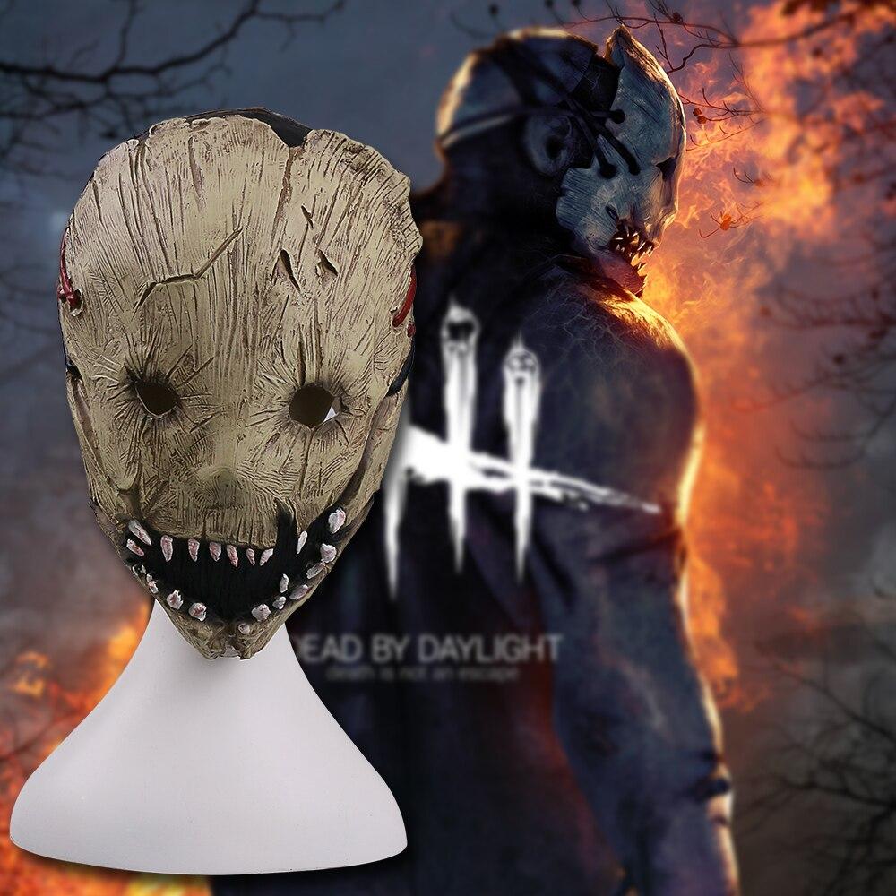 Игра Dead при дневном свете Траппер маска Косплэй Шлемы Маски для век Дышащий Латекс Взр ...