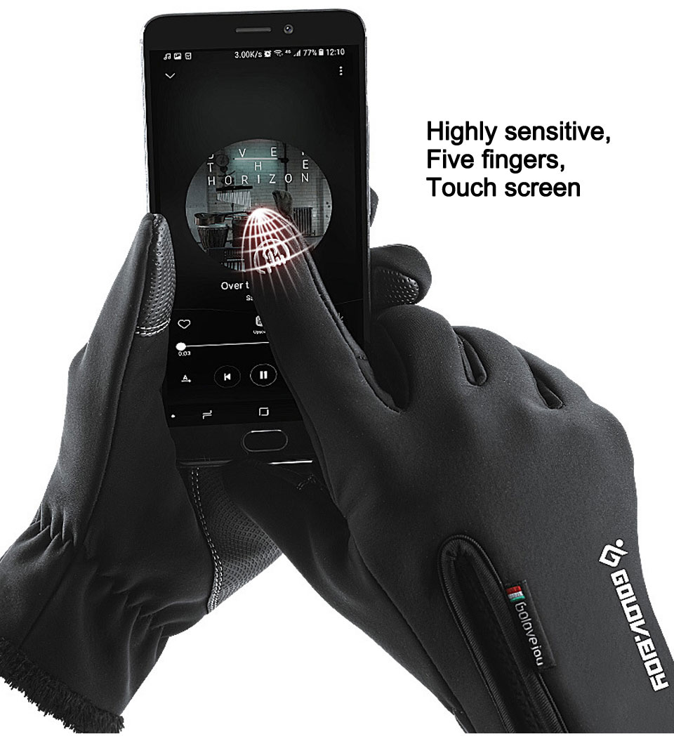 Adult Kids Available Touch Screen Gloves Winter Fleece Windproof Snowboard Gloves Home Outdoor Snow Motorcycle Glove Sportswear