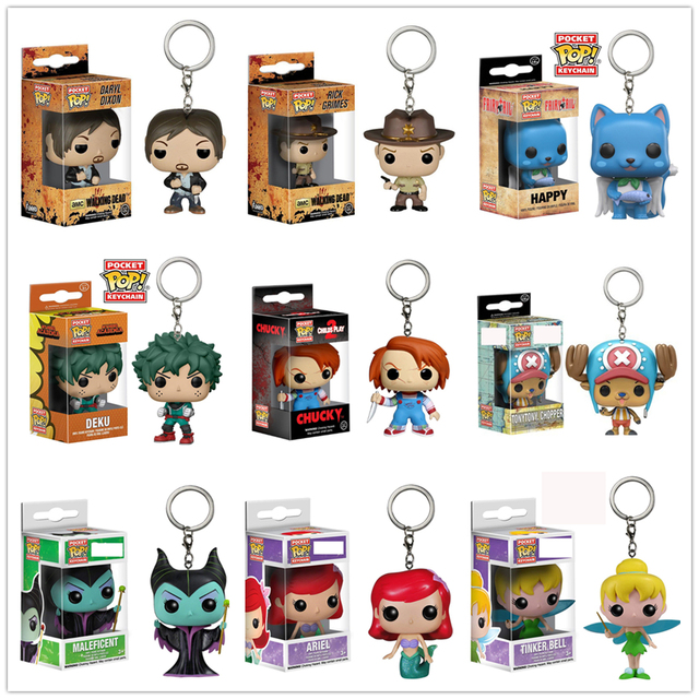 FUNKO POP New Keychain Original Action ALL Figure Marvel Avengers Potter