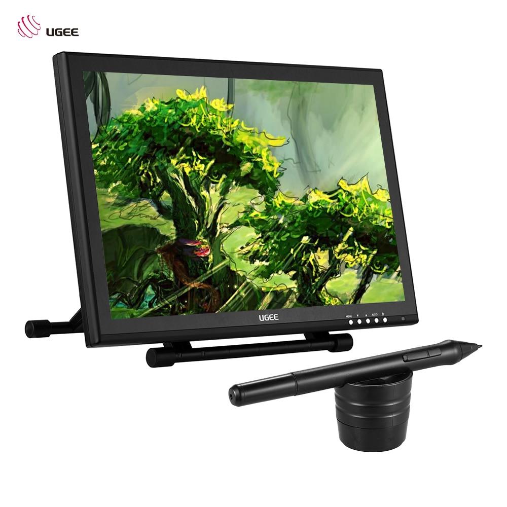 Ugee 1910B 19 5080LPI графика рисунок планшеты TFT ЖК дисплей экран Мониторы дисплей стенд Умный ручка для ящика художник учащегося