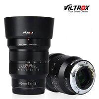 VILTROX 85mm f/1.8 Full Frame Manual Fixed focus lens Fixed Focus F1.8 Lens for Camera Sony NEX E A9 A7M3 A7R Fujifilm FX mount