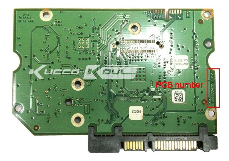 Жёсткий диск части печатной платы печатные платы 100603470 для Seagate 3.5 SATA HDD восстановление данных жёсткий диск ремонт st1000dm000