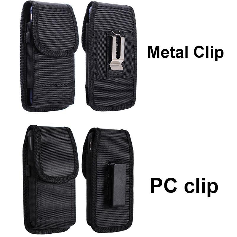 LANCASE Smartphone Pouch Belt Pásová taška pro pouzdro na opasek na opasek Pásový opasek Clip pro iphone 7/8/6 / X / XR / XS pro Samsung S10 / S10e