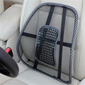 Hot Massage Vent Mesh Lumbar Back Brace Support Home Car Seat Chair Cushion
