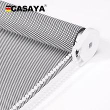 CASAYA Высокое качество рулонные солнцезащитные шторы УФ Блокировка огнестойкие солнцезащитные жалюзи для улицы