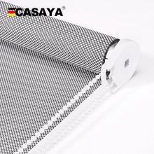 CASAYA High Quality Sunscreen Roller Blinds UV Blocking Fire Retardant Sun shading window blinds for outdoor office living room