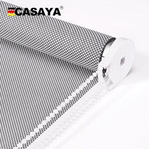 CASAYA-persiana enrollable de alta calidad, bloqueador UV, ignífuga, para ventana y uso en exteriores