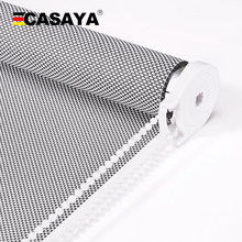 CASAYA High Quality Sunscreen Roller Blinds UV Blocking Fire Retardant Sunshading window blinds for outdoor(China)