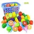 Кухонные игрушки, детские ролевые игры, кухонные фрукты, овощи, пищевая игрушка, набор для резки, детский подарок, игрушка для ребенка, подар...