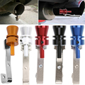 VODOOL Universal Car Size M Turbo Sound Whistle Muffler Exhaust Pipe Auto Blow-off Valve Simulator for All Cars Quality Mufflers