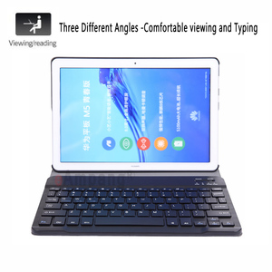Image 2 - Bluetooth Tastatur Fall für Huawei Mediapad M5 Lite 8 8,0 JDN2 W09 JDN2 AL00 Fall Tastatur für Huawei M5 Lite 8 Abdeckung funda + Stift