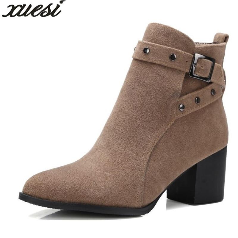 Para Invierno Zapatos Femme Botas gris Bottillons 2018 Australianas Pour Mujer De Negro marrón qERAxYwt