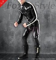 Латекс сексуальные наклеенного боди ручной фетиш латекс гульфик одежда мода латекс одежды