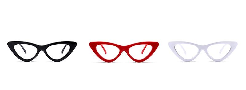 retro cat eye glasses frames for women 0317 details (2)