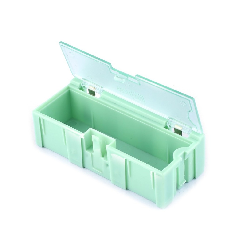 1Pc/10pcs Small Tool Screw Object Electronic Component Parts Storage Box Lab Case SMT SMD Automatically Pops Up Patch Container