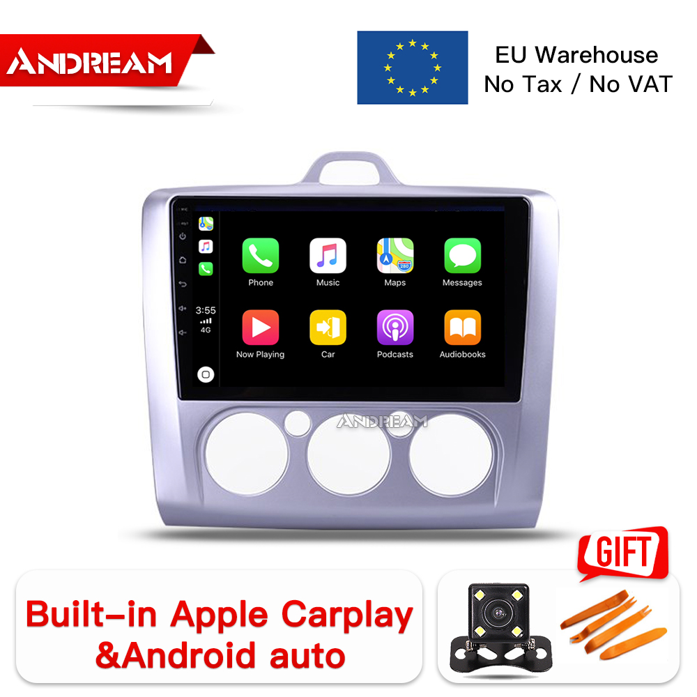 Enthusiastic 9 Ips Screen Octa-core Multimedia Car Player 2 Din Gps Navigation Android 8.1 Head Unit For Ford Focus 2 3 2006-2011 Carplay To Be Renowned Both At Home And Abroad For Exquisite Workmanship Car Multimedia Player Skillful Knitting And Elegant Design
