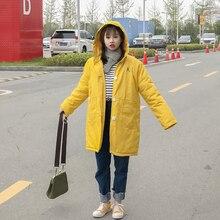 2016 Корейской зимой новый увеличить смягчение длинная шерсть хлопок конфеты цветные хлопок пальто ягненка женский BF