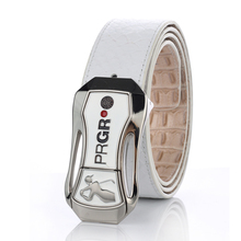 mens Golf belt double-sided Design male sport strap Genuine Leather buckle with Divot Tools