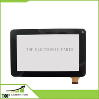 7'' Inch Capacitive Touch Screen Tablet Computer Screen MJK 0144 black color