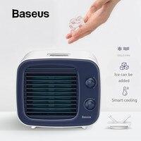 Baseus Mini USB Air Cooling Fan Portable Air Conditioner Humidifier Air Cooler Cold Fan USB Fan Desktop Fan for Office Home