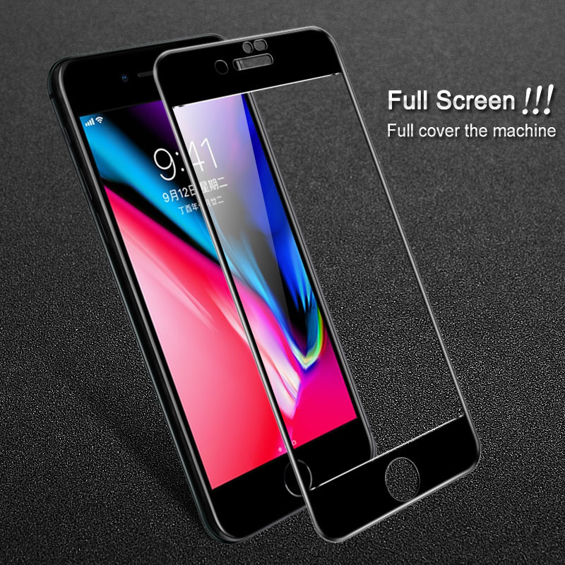 For Apple IPhone 7 8 Plus Screen Protector For Apple IPhone 8 7 Plus Tempered Glass Imak Pro+ Full Cover Protective Glass