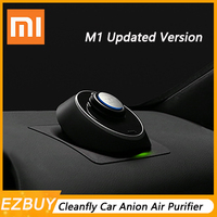 Xiaomi Mijia Cleanfly M1 Car Anion Air Purifier LED Display Mute Portable Purifier Support Parking Purification With USB