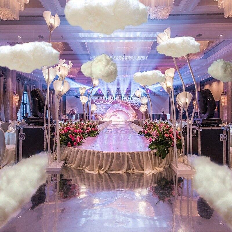 My Cloud подвесной Декор красочные Ложные облака украшения свет Свадьба 1 шт с шнурком красота Вечеринка Детская комната