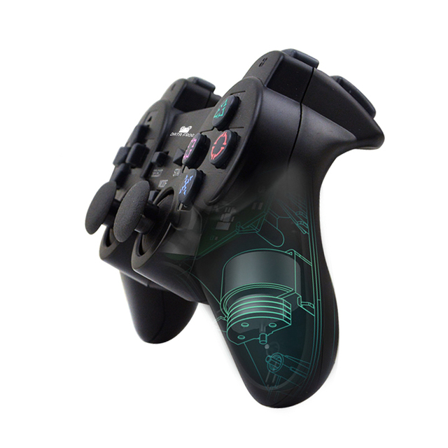Data Frog 2.4GHz Wilreless Gamepad For Sony PS2 Controller Joystick Joypad For Sony Playstation PS2  For Sony PS3 For PC
