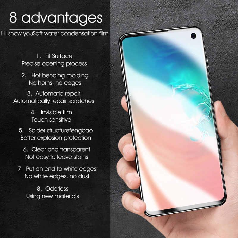 9D мягкий гидрогель пленка на samsung Galaxy S10 Lite S10 плюс S10 Экран Защитная пленка для полного покрытия не Стекло