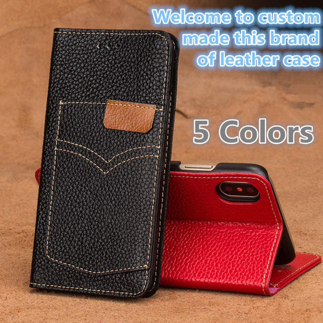 big sale 4f0c9 ad2fa LS18 Genuine leather wallet flip case cover for Nokia 6 2018 1054 phone  case for Nokia 6 2018 1054 flip phone cover-in Wallet Cases from Cellphones  & ...