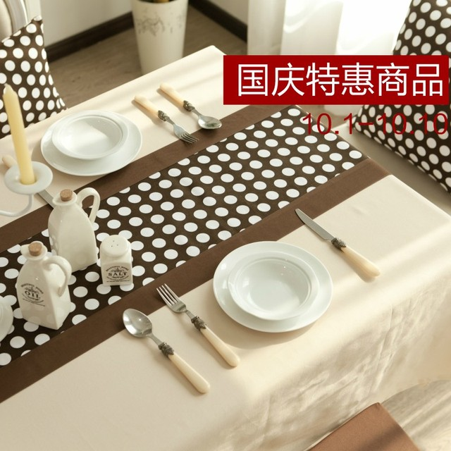 Cotton 100% ! table cloth tablecloth dining table cloth gremial table cloth table mat home textile fabric solid color brief
