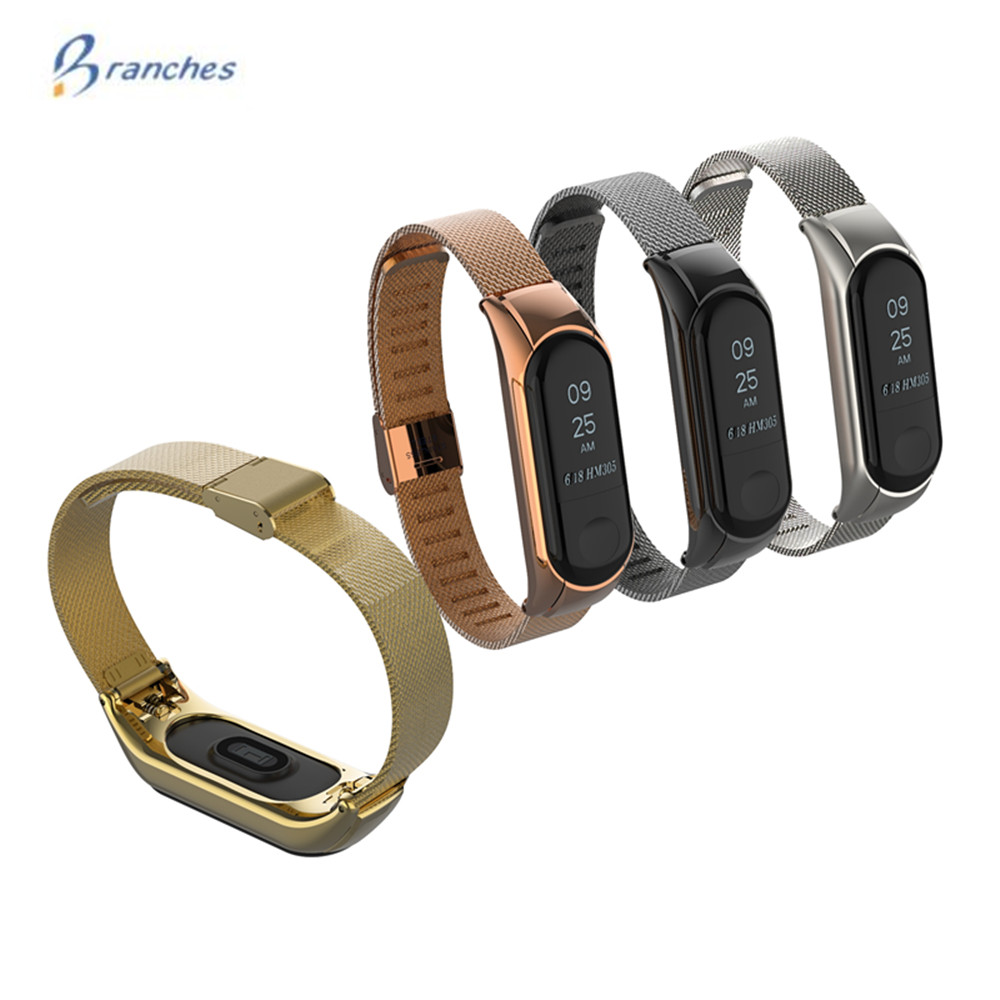 xiaomi mi band 2 screwless stainless steel strap miband 2 metal wrist strap bracelet for mi band2 smart wristbands accessories mi band 3 bracelet for Xiaomi mi band 3 Metal Strap wrist strap Screwless Stainless Steel Bracelet Wristbands MiBand 3 strap