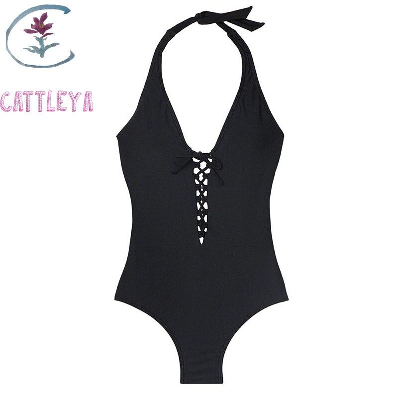 Traditional & Cultural Wear Cattleya Plus Size One Piece Swimsuit Solid Swimwear Women Monokini Bandage Trikini Open Back Bathing Suit Pads M-5xl Myy 8092 Aesthetic Appearance