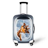 Yeselloポリエステルジッパー旅行荷物スーツケース保護カバートロリーケース防水旅行の荷物男