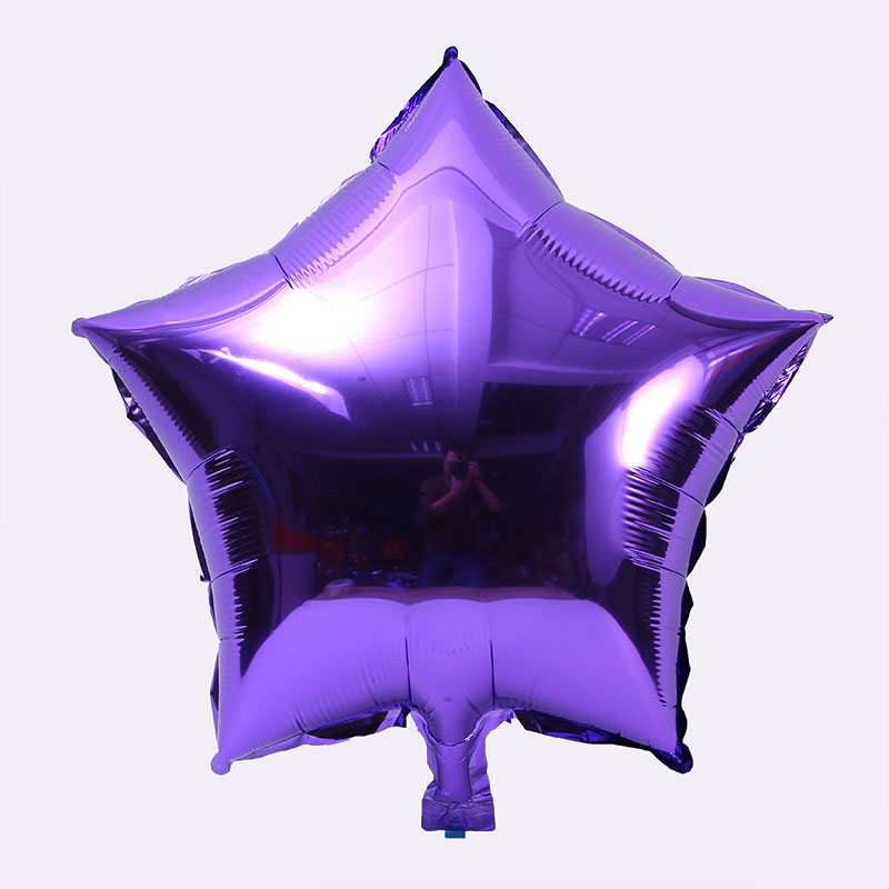 10pcs/lot 10 inch Five-Pointed Star Foil Balloon For Baby Shower And Wedding Decorations 8