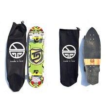 4dd26e87748 Skateboard Rugzakken SIngle Shouler Dubbele Rocker Skateboard Tas Fishboard  Penny Board Bag Draagtassen met Koord