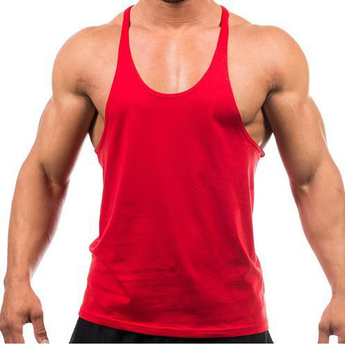 a2d7df08794951 Custom Logo Tank top Men Stringer Bodybuilding Tank Top Solid Color shirt  Singlet Y Back Muscle Racer back Free shipping-in Tank Tops from Men s  Clothing on ...