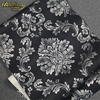 Papel De Parede Floral Wallcovering PVC Wallpaper Black Damascus Classic Wall Paper Home Decor Background Wall