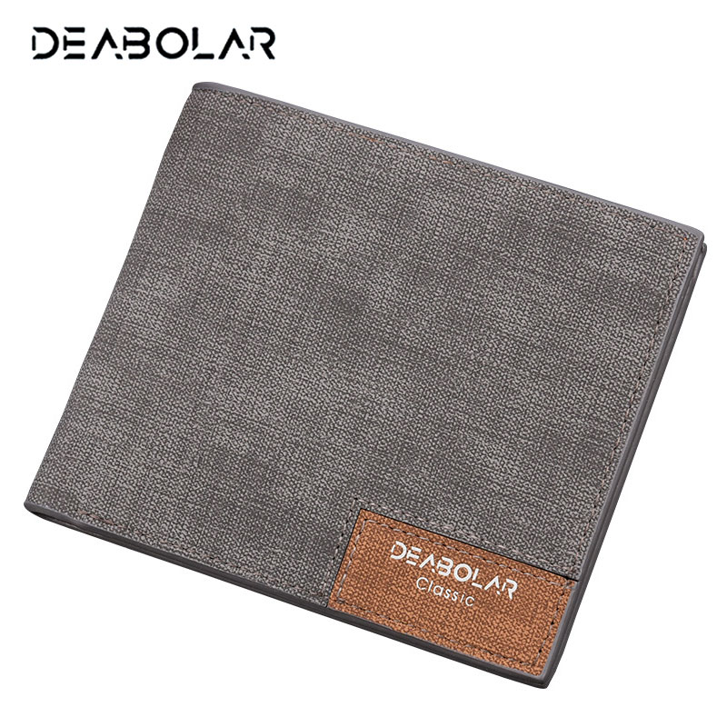 Hot Promotion! Brand 2018 Vintage Man Wallet Male Slim Top Quality Leather Wallets Thin Money Dollar Card Holder Purses for Men
