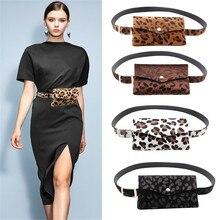 Sleeper#401 сумка для женщин леопардовый конский волос декоративные карманы двойного назначения Мобильный телефон сумка кошелек Повседневная Прямая