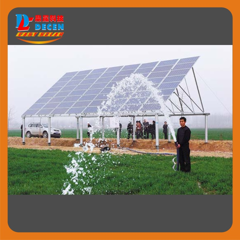 DECEN@ 1920W DC Solar Pump Built-in MPPT controller For Solar Pumping System Adapting Water Head 100m,Hour Water Supply 3m3 photovoltaic water pumping systems
