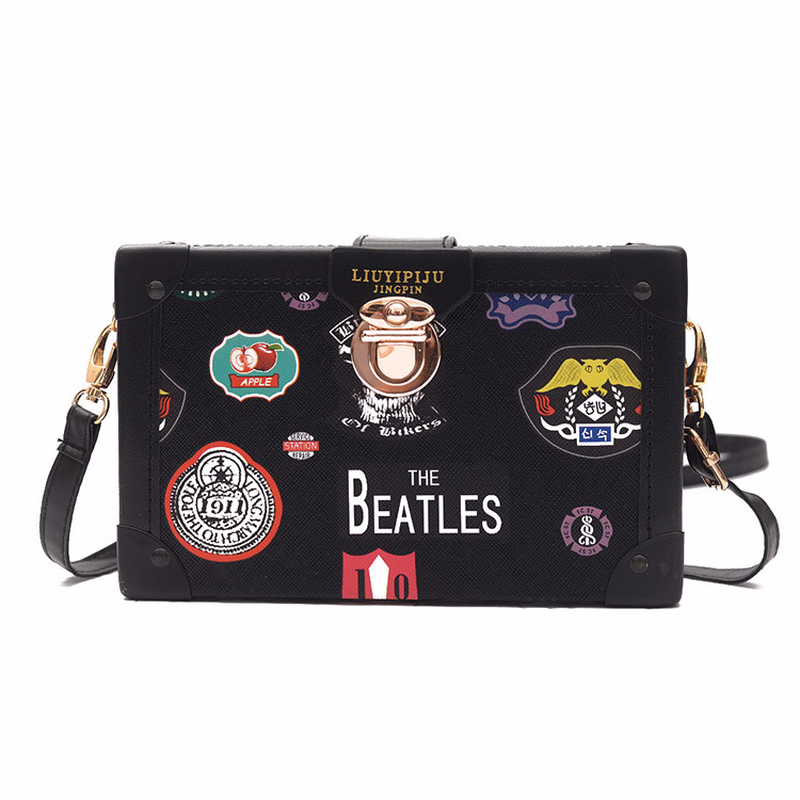 08fa50e387ec Detail Feedback Questions about Cute Women Small Messenger Bag Printing  Medal Crossbody Bag Box Shoulder Bag Female Plaid Handbag Letter Floral PU  Leather ...