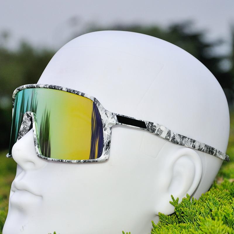 61659b2154 2019 deportes al aire libre gafas de ciclismo hombres polarizado gafas  ciclismo bicicleta de montaña ciclismo gafas de sol de bicicletas UV400 3  lente ...